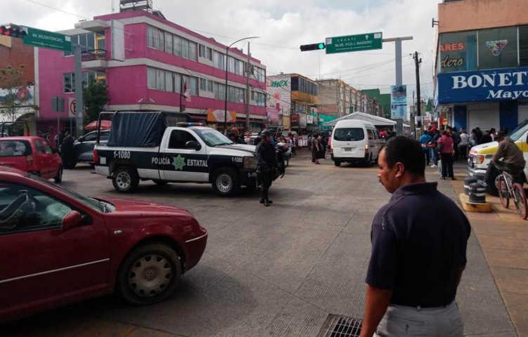 Tras reporte, SSC verifica incidente en Apizaco