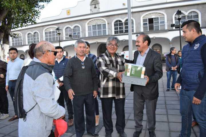 Alcalde fortalece la seguridad en el municipio con alarmas vecinales