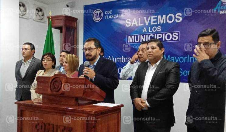 Se unifican panistas para exigir la defensa del Presupuesto de Tlaxcala