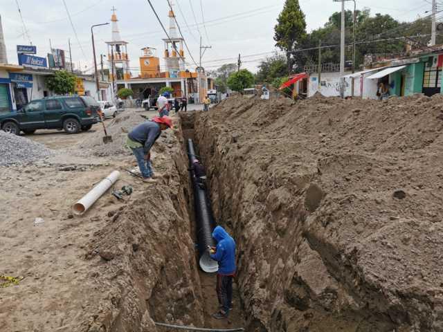Con este drenaje en la secc 5ta fortalecemos los servicios básicos: TOA