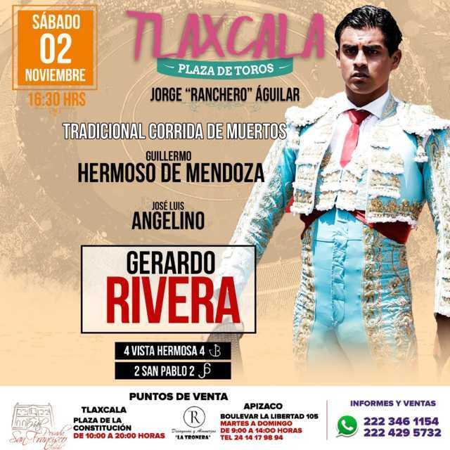 Próximo 2 de Noviembre tradicional corrida de muertos en la Feria Tlaxcala 2019