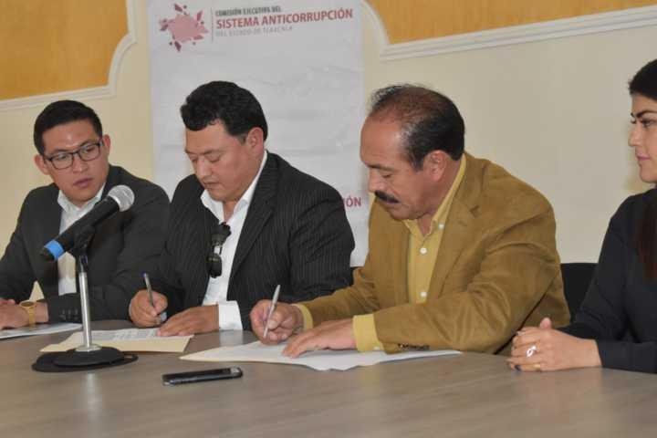 Ayuntamiento y sistema anticorrupción signan convenio de colaboración