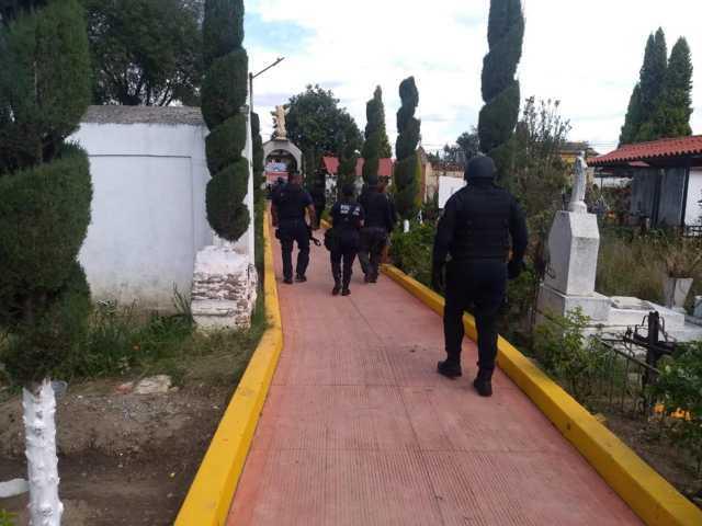 Este 10 de mayo el panteón municipal de Zacatelco permanecerá cerrado.