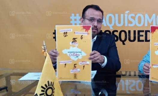 PRD demuestra que en Tlaxcala ya aumentó la incidencia delictiva