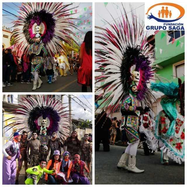 Fundación grupo SAGA presente en la inauguración de feria de Tetlatlahuca