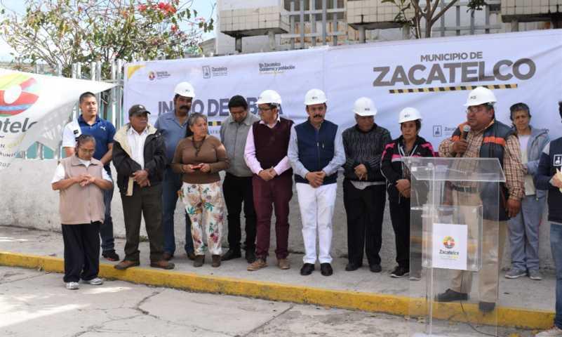 TOA mejora los servicios básicos en la avenida Puebla de la sección 2da.