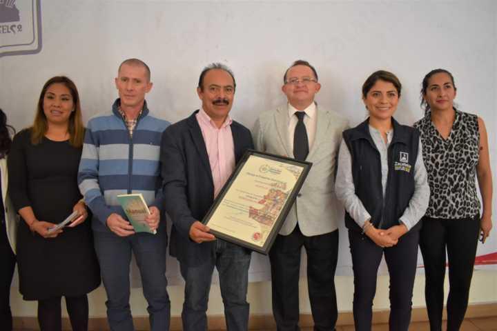 El galardón DH fue por impulsar los Derechos Humanos en Zacatelco: TOA