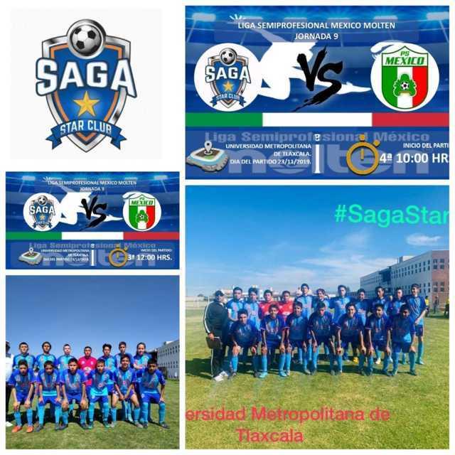 SAGA STAR líder de la tercera división y sigue invicto en la Liga