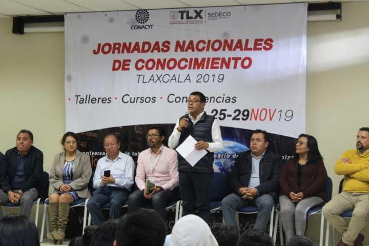 Inaugura UPTx Jornadas Nacionales del Conocimiento