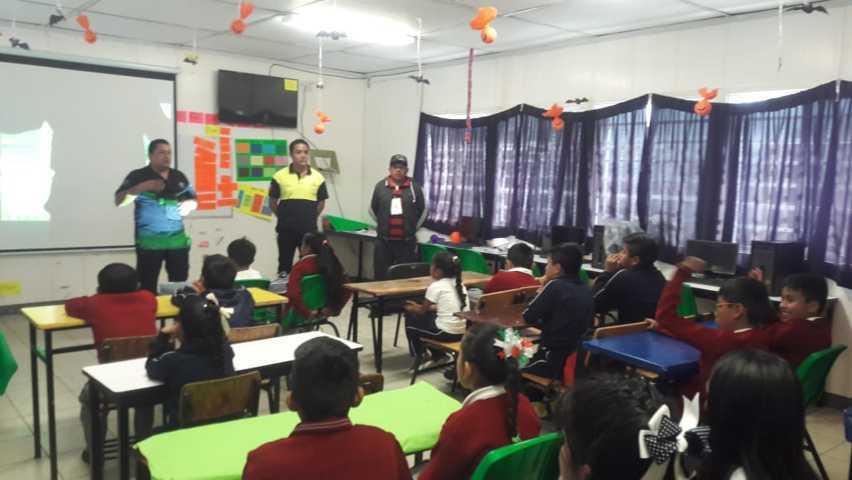 Impulsamos la prevención y la seguridad en alumnos con Patrulla Escolar: JOAO