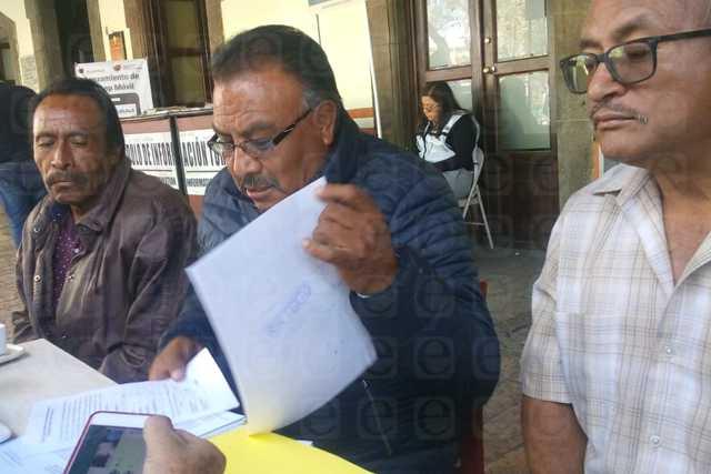 ITE y edil de Nanacamilpa van contra presidente de comunidad, denuncian