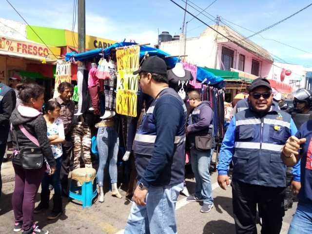 Gobierno de Apizaco reactivará Operativos de Ambulantaje