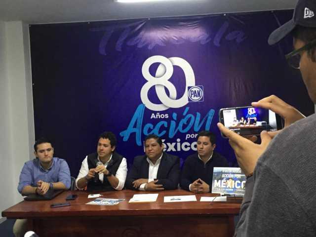 Va PAN Tlaxcala contra apatía juvenil; presentan programa de voluntariado