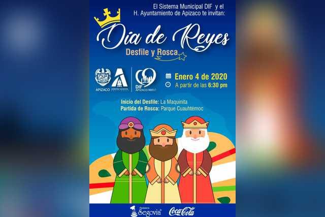 No te pierdas el Desfile de Día de Reyes en Apizaco
