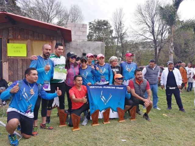 10 estados arriban para el 1er. Trail los Molinos El Reto/ Totolac