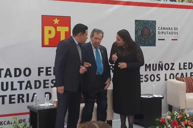 Recibe Tlaxcala con los brazos abiertos a Diputado Federal Porfirio Muñoz Ledo