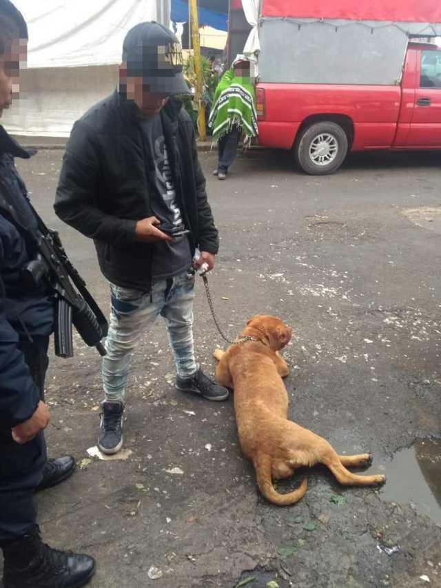 Detiene policía de Apizaco a sujeto con orden de aprehensión por robo