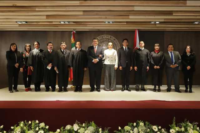 Unidad y Trabajo Conjunto en el Poder Judicial de Tlaxcala