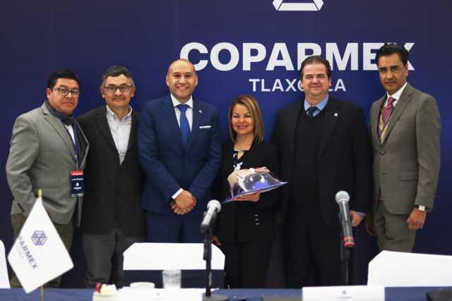 COPARMEX y Minerva Hernández analizan las reformas fiscales