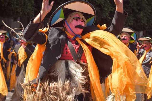 Todo listo para el Carnaval en Zacatelco
