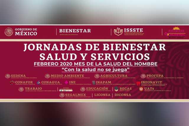 Invita Bienestar a Jornada de Salud y Servicios en Xaloztoc