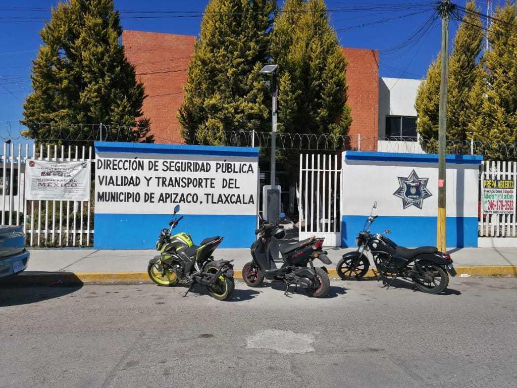 A disposición del MP tres policías acusados de ataque sexual en Apizaco