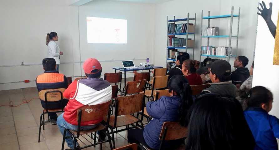 Llevan a cabo pláticas de orientación sexual en San Pablo del Monte Tlaxcala