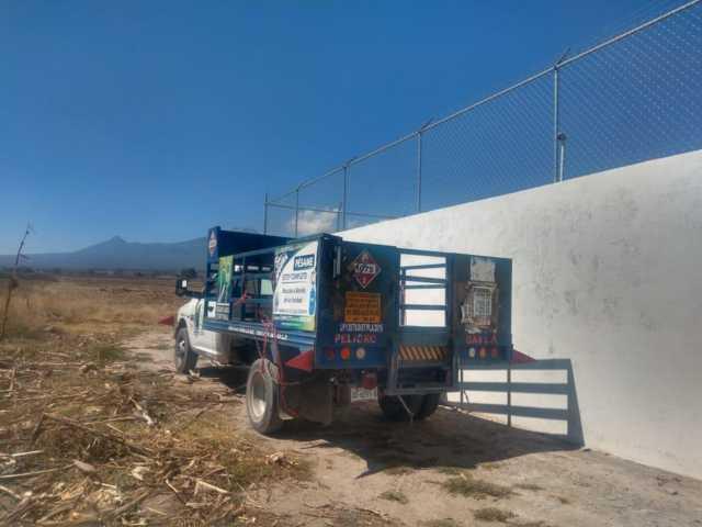 Policía de Ixtenco recupera unidad de carga con reporte de robo