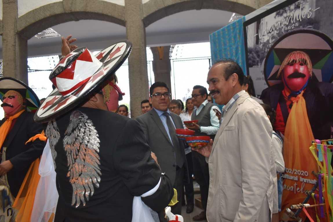 Alcalde Tomás Orea Otorga apoyos a Camadas de Chivarrudos
