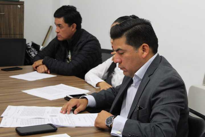 Gracias al diputado Garrido comienza la mediación entre Chiautempan y Tlaltelulco