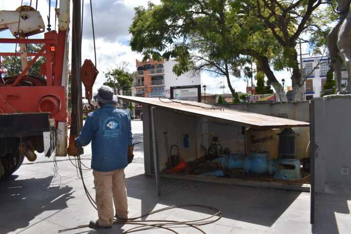 La  Capaz anuncia fechas de Mantenimiento a pozos en Zacatelco