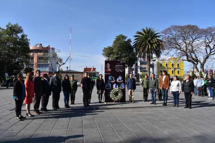 Rinden Homenaje en Zacatelco por el Día Internacional de la Mujer