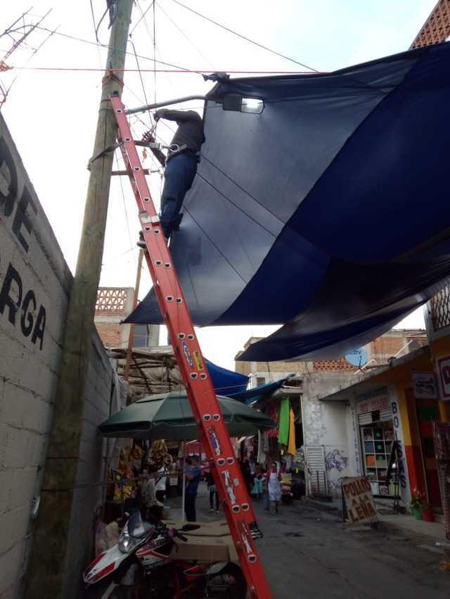 Pese a robo de vehículos, Chiautempan continúa trabajando