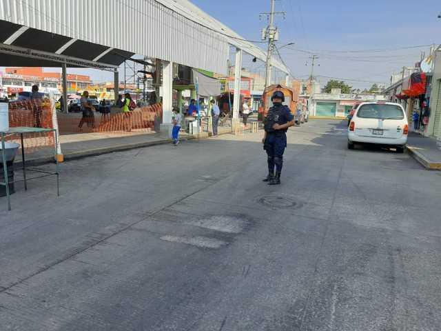 Reducirán el Horario del Mercado municipal en Zacatelco