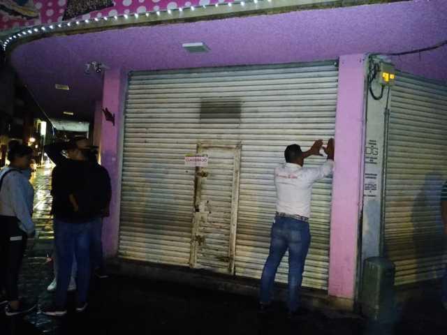 Por no cumplir con medidas de sanidad suspendes dos comercios en Chiautempan