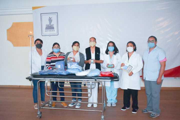 Gobierno de Zacatelco apoya a hospital comunitario