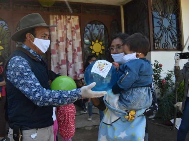 Orea entrega  más de Tres mil Juguetes por el Día del Niño