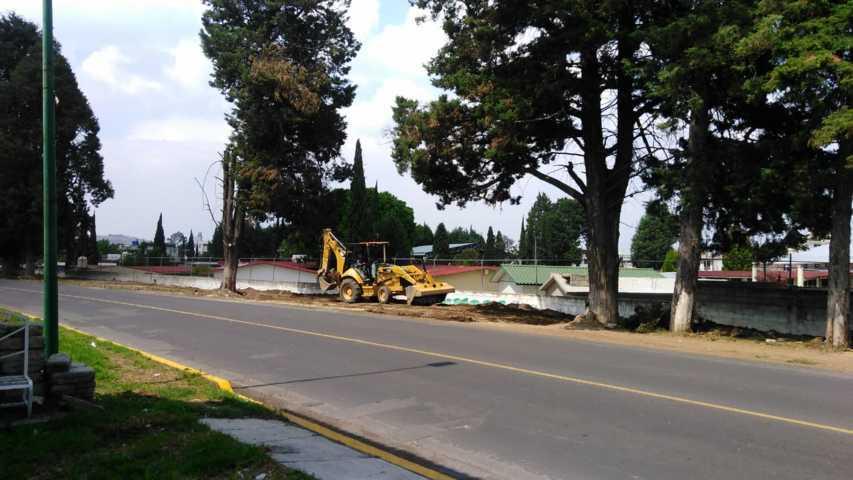 El Gobierno Municipal de Zacatelco continúa con dos obras en ejecución