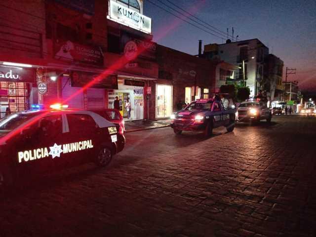 Continúan los Operativos de Seguridad Municipal de Zacatelco y la Guardia Nacional