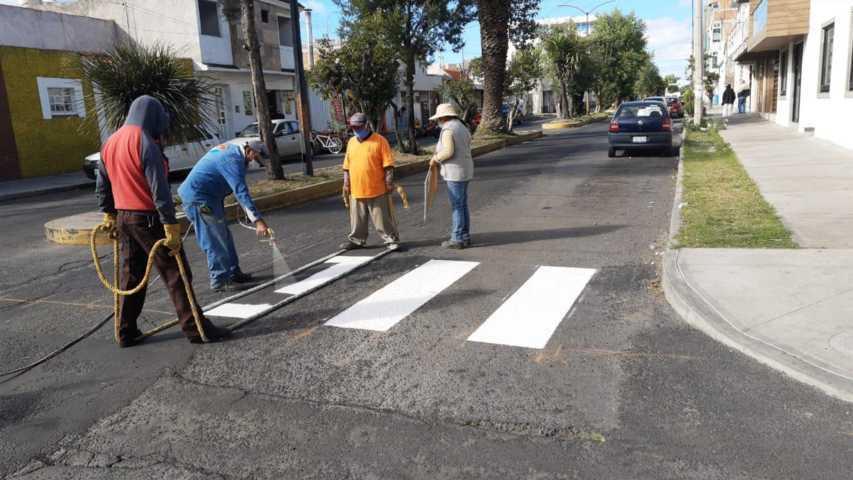 Seguimos embelleciendo la ciudad, disculpe las molestias: Imagen Urbana de Apizaco