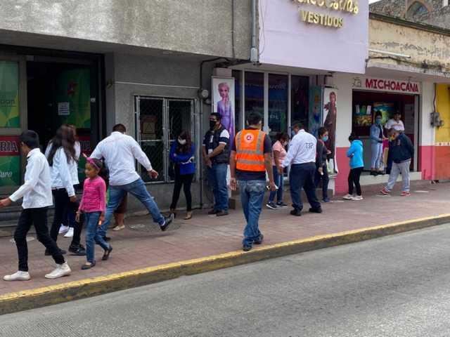 Continúa Chiautempan reforzando medidas de seguridad ante Covid 19