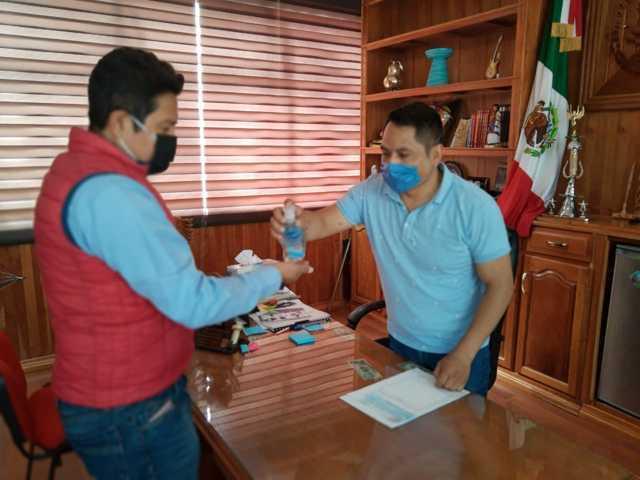 Emergencia sanitaria aun sigue vigente en Quilehtla: Oscar Pérez