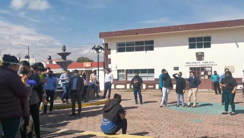Saldo blanco en Tetla por Sismo registrado este martes