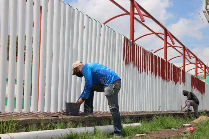 Rehabilitar campo deportivo Prospero Cahuantzi de Chiautempan