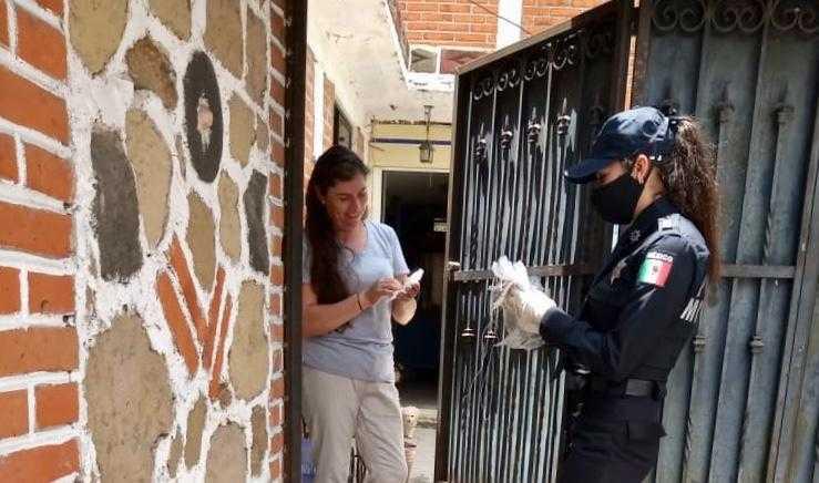 Fortalecen medidas de prevención para evitar contagios por Covid-19 en Tetla