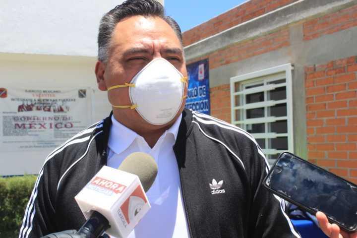 No bajaremos la guardia para enfrentar al Covid-19 en Tetla: Eleazar Molina