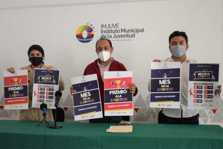 Se presenta el programa de actividades con motivo del Mes de la Juventud en Zacatelco