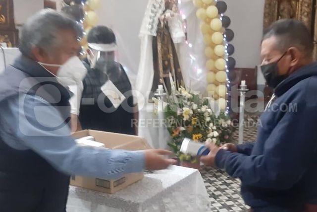 Zambrano Cervantes impulsa acciones preventivas en iglesias de Ixtacuixtla