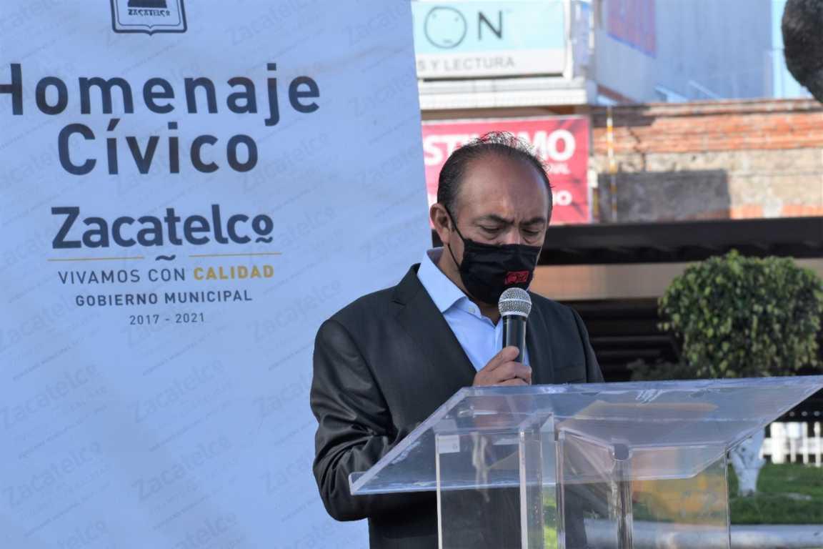 Zacatelco vivió las Fiestas Patrias virtualmente