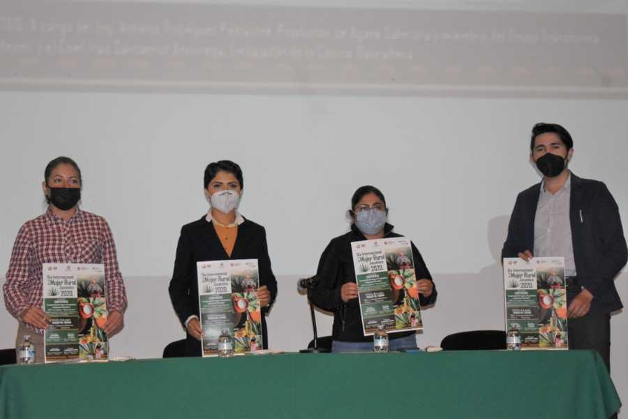 Presentan actividades en conmemoración al Día de la Mujer Rural 2020 en Zacatelco